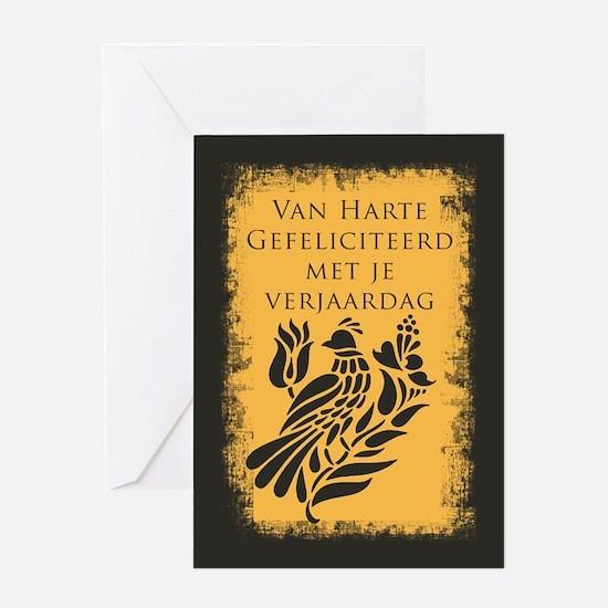 Flemish Belgian Birthday Card Greeting Cards