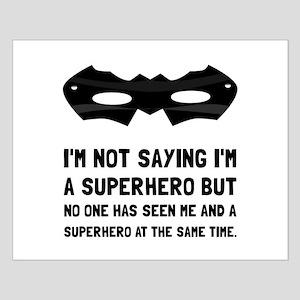 Me And Superhero Posters