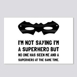 Me And Superhero Postcards (Package of 8)
