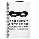 Superhero Journals & Spiral Notebooks