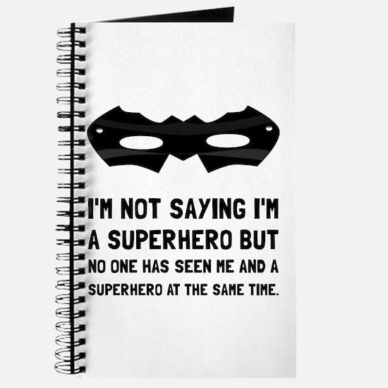 Me And Superhero Journal