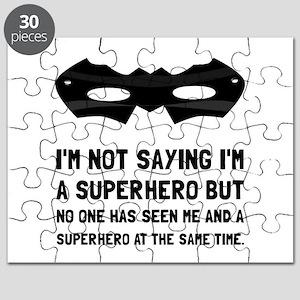 Me And Superhero Puzzle