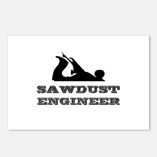Sawdust Engineer Postcards (Package of 8)