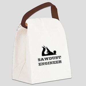 Sawdust Engineer Canvas Lunch Bag