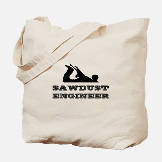 Sawdust Engineer Tote Bag