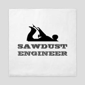 Sawdust Engineer Queen Duvet