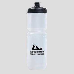 Sawdust Engineer Sports Bottle