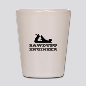 Sawdust Engineer Shot Glass