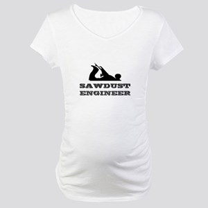 Sawdust Engineer Maternity T-Shirt