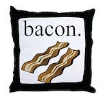 bacon. Throw Pillow