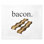 bacon. King Duvet