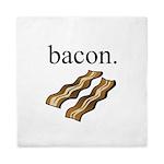 bacon. Queen Duvet