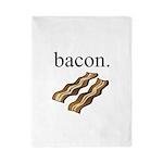 bacon. Twin Duvet