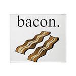 bacon. Throw Blanket