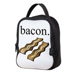 bacon. Neoprene Lunch Bag