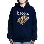 bacon. Women's Hooded Sweatshirt