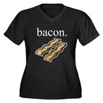 bacon. Plus Size T-Shirt