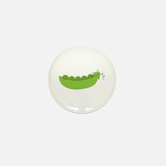 Peapods Mini Button