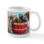 Art Yarn Basket Mugs