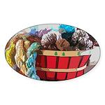Art Yarn Basket Sticker