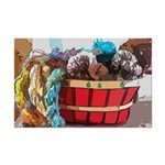 Art Yarn Basket Posters