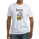 beer. Fitted T-Shirt