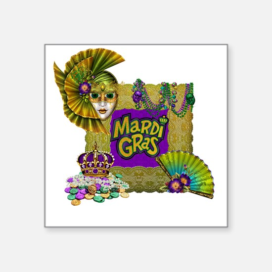 Mardi Gras Sticker