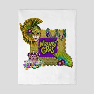 Mardi Gras Twin Duvet