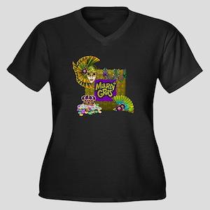 Mardi Gras Plus Size T-Shirt
