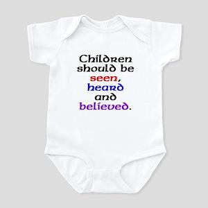 Seen, heard & believed Infant Bodysuit