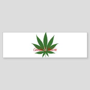 Cannabis IS Medicine Bumper Sticker