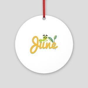 June Ant Ornament (Round)