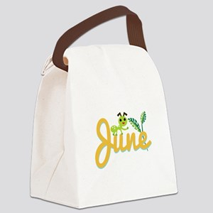 June Ant Canvas Lunch Bag