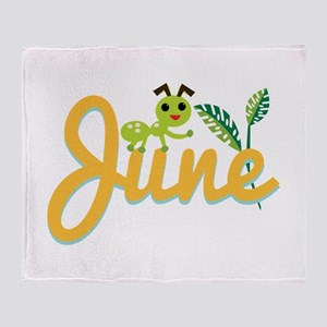 June Ant Throw Blanket