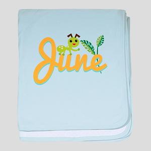 June Ant baby blanket