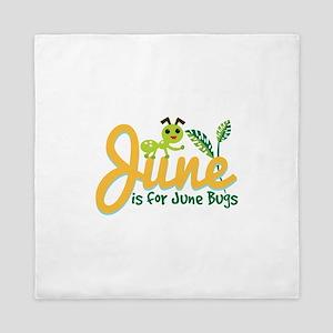 June Bug Queen Duvet