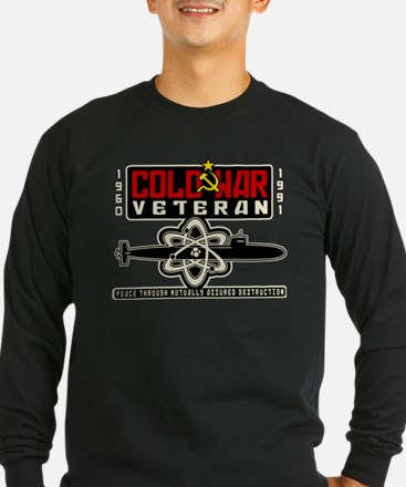 Cold-War-Vet-shirt-back Long Sleeve T-Shirt