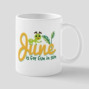 June Sun Mugs
