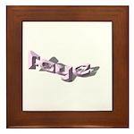 FAYE NAME Framed Tile
