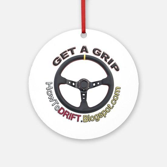 Get A Grip Ornament (Round)