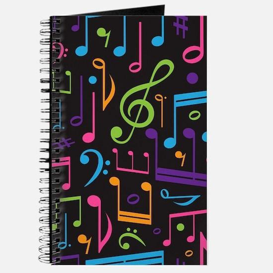 Music notes Band Choir Journal
