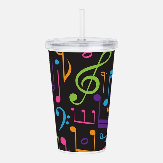 Music notes Band Choir Acrylic Double-wall Tumbler