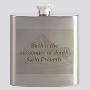 Birth Is the Messenger Flask
