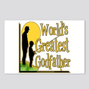 World's Greatest Godfather Postcards (Package of 8