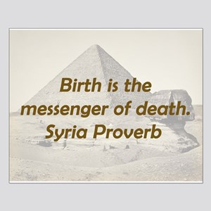 Birth Is the Messenger Small Poster