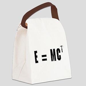 E equals MC Hammer Canvas Lunch Bag