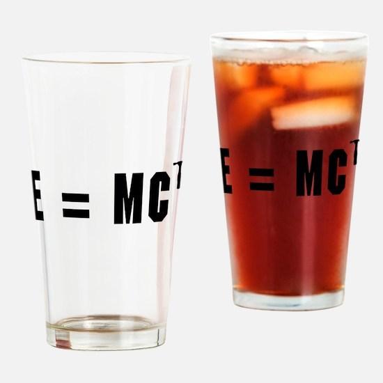 E equals MC Hammer Drinking Glass