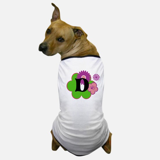 Letter D Dog T-Shirt
