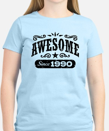 Awesome Since 1990 Women's Light T-Shirt