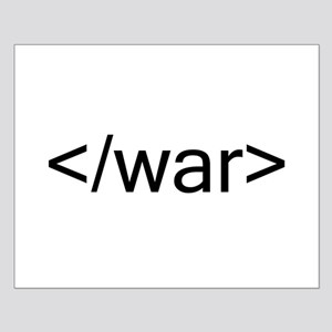 End war html code Posters